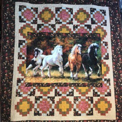 Running Horse Quilt